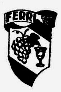 Logo antiguo Bodegas Ferri