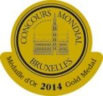 medalla-oro-concurso-mundial-bruselas-2014